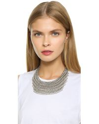 Adia Kibur | Metallic Kennedy Necklace | Lyst