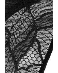 La Perla - Lace Thong - Black - Lyst