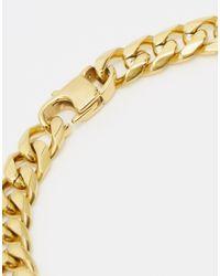 Mister - Metallic Chain Link Bracelet for Men - Lyst