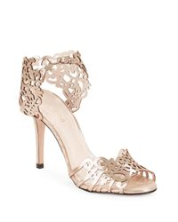 Klub Nico | Metallic Moxie Filigree Pumps | Lyst