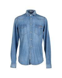 Roy Rogers - Blue Denim Shirt for Men - Lyst