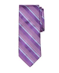 Brooks Brothers | Purple Sidewheeler Stripe Tie for Men | Lyst