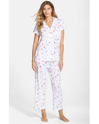 Carole Hochman | Blue 'embellished Foulard' Pajamas | Lyst