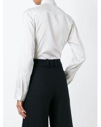 Jil Sander | White 'vittoria' Shirt | Lyst