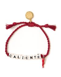 Venessa Arizaga - Red 'Caliente' Bracelet - Lyst