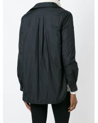 Aspesi - Black Waterproof Shirt Jacket - Lyst