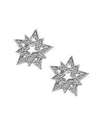 Nina - Metallic Astor Earring - Lyst