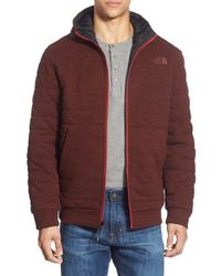 The North Face | Red 'kingston' Reversible Hooded Jacket for Men | Lyst