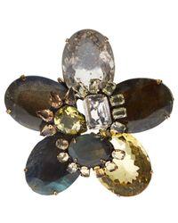 Iradj Moini - Multicolor Smoky Quartz Flower Multi-Way Necklace - Lyst
