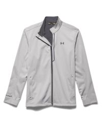 Under Armour | Gray Elemental Plain Half Zip Neck Zip Fastening Cardi for Men | Lyst