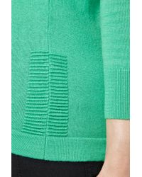 Great Plains | Green Rocking Basics Scoop Neck Top | Lyst