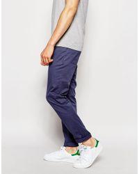 ASOS - Skinny Trousers In Petrol Blue for Men - Lyst