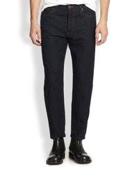 Marni | Blue Straightleg Denim Jeans for Men | Lyst