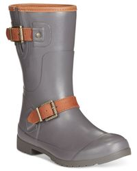 Sperry Top-Sider | Gray Walker Fog Rain Booties | Lyst