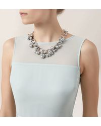 Hobbs | Metallic Rachel Pearl Necklace | Lyst
