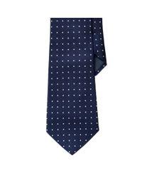 Ralph Lauren | Blue Regency Dot Silk Repp Tie for Men | Lyst