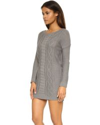 BB Dakota | Gray Jack By Scout Sweater Dress | Lyst
