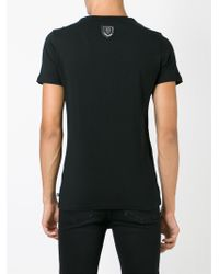 Philipp Plein - Black 'teenage Thug' T-shirt for Men - Lyst