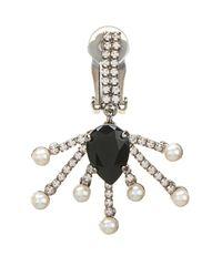 Vickisarge | Metallic Cosmos Crystal-Star Earrings | Lyst