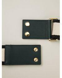 Marni - Natural Colour Block Webbing Belt - Lyst