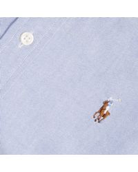 Polo Ralph Lauren | Blue Shirt | Lyst