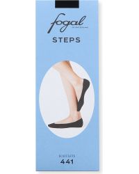 Fogal | Black Steps Footlets - For Women | Lyst