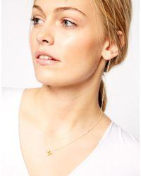 Dogeared - Metallic My Best Friend Necklace - Lyst