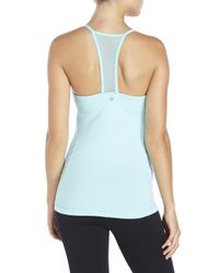 90 Degree By Reflex | Blue Jacquard Panel Active Tank | Lyst