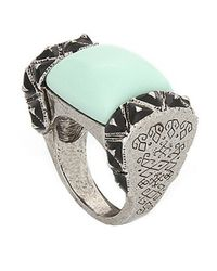 Rose Pierre | Green Treasure Chest Ring | Lyst