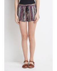 Forever 21 | Multicolor Abstract Print Shorts | Lyst
