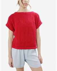 Wool And The Gang | Red Julio T-shirt | Lyst