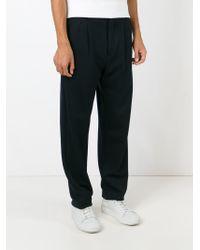 Giorgio Armani - Blue Tailored Track Pants for Men - Lyst