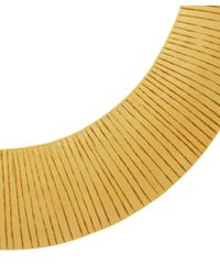 Herve Van Der Straeten - Metallic Gold-Plated Curved Collar Necklace - Lyst