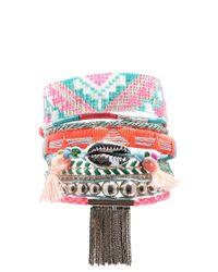 Hipanema | Pink Tenderness Friendship Bracelet | Lyst