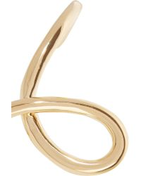 Jennifer Fisher - Metallic Large Loop Gold-plated Cuff - Lyst