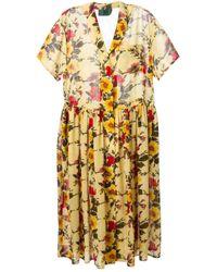 Jean Paul Gaultier | Multicolor Floral Junior Gaultier Dress | Lyst