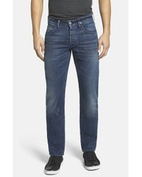 Hudson Jeans | Blue 'blake' Slim Fit Jeans for Men | Lyst