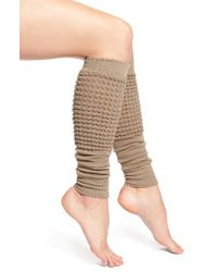 Falke | Gray 'pouch' Wool Blend Leg Warmers | Lyst