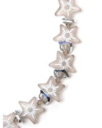 Shebee | White All Star Necklace | Lyst