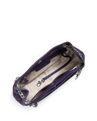 MICHAEL Michael Kors | Purple Jet Set Leather Chain Messenger Bag | Lyst