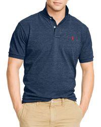 Ralph Lauren | Blue Polo Classic-fit Mesh Polo Shirt for Men | Lyst