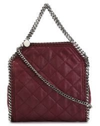 Stella McCartney - Purple Falabella Quilted Tote  - Lyst