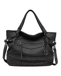 Jessica Simpson | Black Margaret Crossbody Tote | Lyst