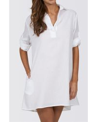 Jets by Jessika Allen | White Classique Shirt Dress | Lyst