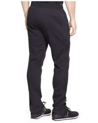 Polo Ralph Lauren - Black Polo Sport Cotton-blend Fleece Pant for Men - Lyst