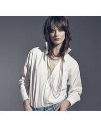 Jenny Bird | Metallic Oria Necklace | Lyst