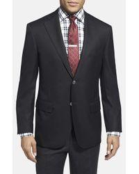 Corneliani | Black Trim Fit Wool Blazer for Men | Lyst