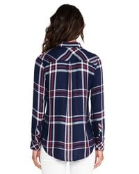 Rails - Red Hunter Long Sleeve Button Down - Lyst