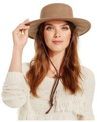 Nine West | Brown Felt Bolero Hat | Lyst