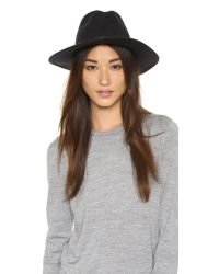 Rag & Bone | Black Dakota Hat | Lyst